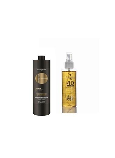 Eugene Perma Eugene Perma Essentiel Keratin Şampuan 1000 Ml+Biomega 40 Bitkili Doğal Saç Bakım Yağı 150 Ml Renksiz